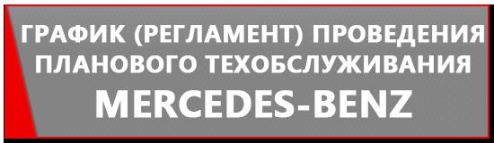 Регламент ТО Мерседес