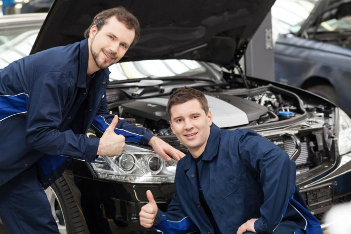 Виды ремонта Mercedes